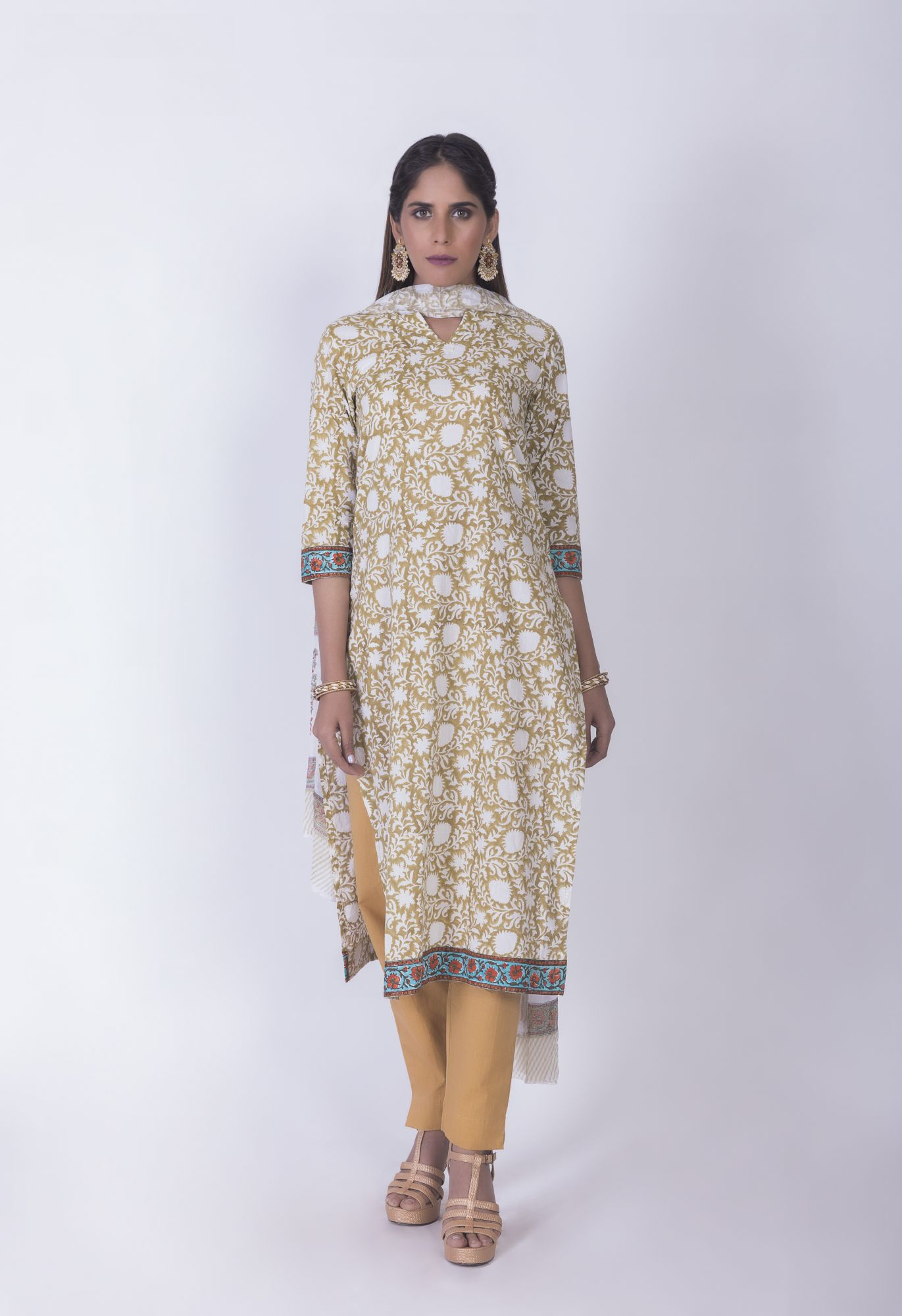 Kurta And Dupatta Set