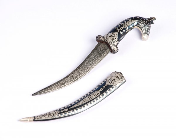 Animal Face Dagger