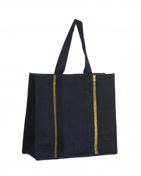 Navy Blue  Gota Bag