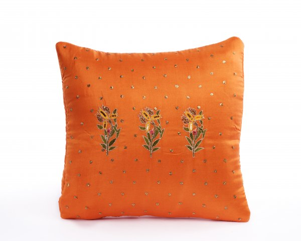 Flower Boota Cushion Cover.