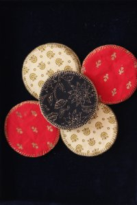 Zari and Thread Coaster