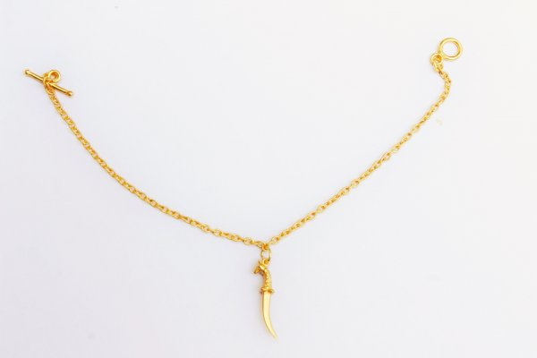 Gold Plated Dagger Bracelet