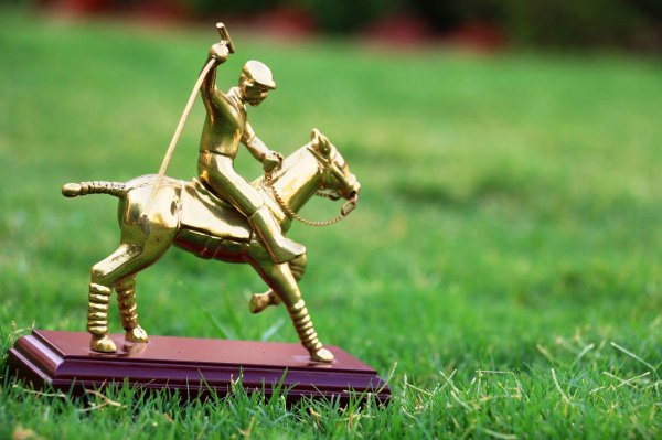 Polo Player Showpiece