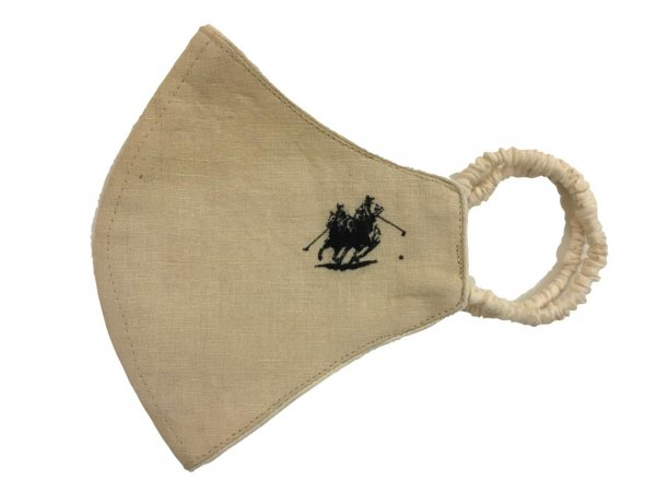 Beige Polo Mask