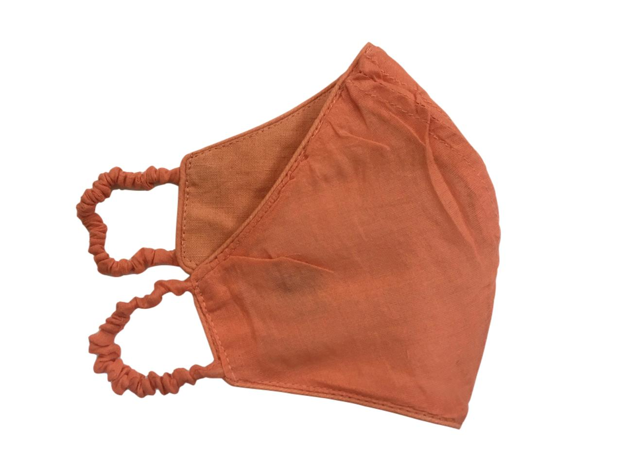 Peach Polo Mask